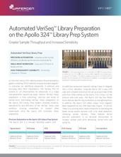 Automated VeriSeq™ Library Preparation