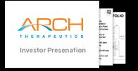 Arch Therapeutics, Inc. Investor Presentation