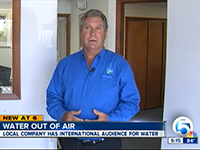 VIDEO: GR8 Water: Treasure Coast company makes water out of air