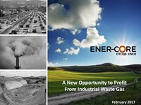 Ener-Core Investor Presentation - February 2017