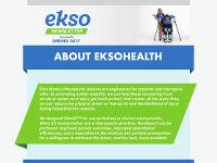 EksoHealth Newsletter - Spring 2017