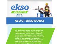 EksoWorks Newsletter - Spring 2017