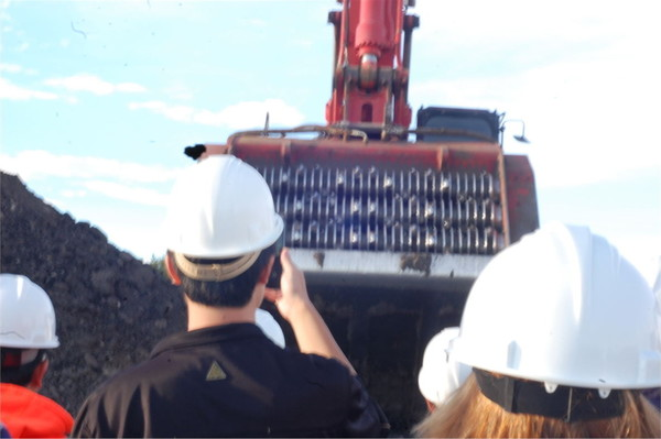 35th Shale Symposium VIP's Take Plant Tour of Petroteq Extraction Plant