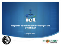 EnerCom 2015 Presentation