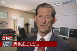 Interview with Dr Jerry Bailey MCW Energy Group