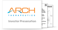 Arch Therapeutics, Inc. Investor Presentation
