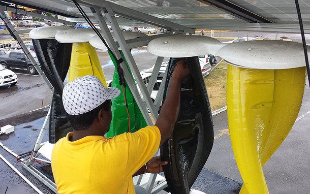 Jamaica Public Service's E-Store Installation