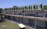 Caribbean ESCo Drying Facility Installation