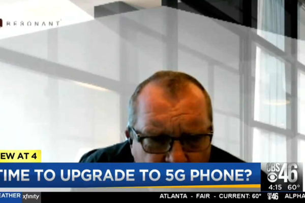 WGCL-TV (CBS; Atlanta, GA): Rob Hughes interviewed George on how prepare for 5G