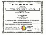 AL State Licensure