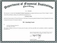 AZ State Licensure