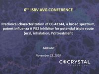 6TH ISRV AVG Conference Presentation
