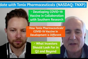 Tonix Pharmaceuticals Discusses Developing COVID-19 Vaccine in Collaboration with Southern Research