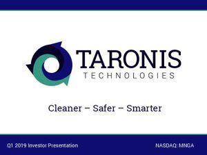 Investor Presentation - Q3 2018