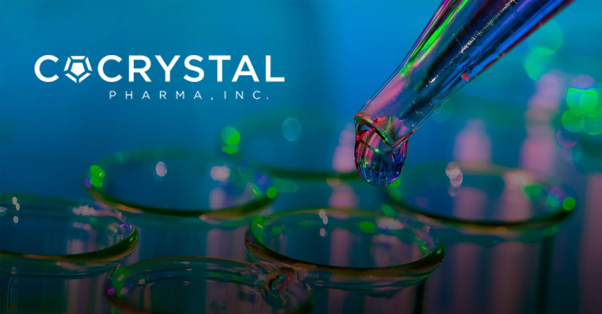Cocrystal Pharma stock doubles on massive volume shortly after progress on coronavirus drug candidates