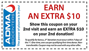 Receive $10 Bonus