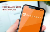 Resonant's Q1 2020 Financial Results Conference Call Presentation