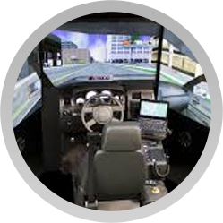 FAAC develops its first fully-integrated interactive commercial driving simulator