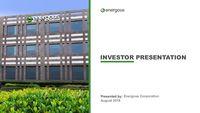 Energous Investor Presentation January 2018