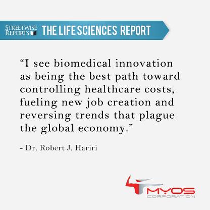 The Life Sciences Report Interview With MYOS Chairman Robert J. Hariri