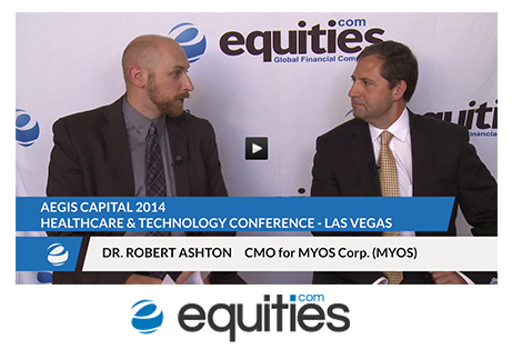Equities.com Interviews MYOS Chief Medical Officer Dr. Robert Ashton