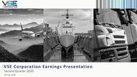 VSE Corporation Earnings Presentation for the Second Quarter 2020