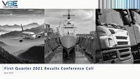 VSE Corporation Earnings Presentation for the First Quarter 2021