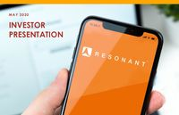 Resonant Investor Presentation – May 2020