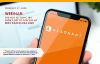 Resonant 5G Technology Update Webinar