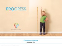 September 2019 Company Update
