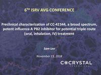 6TH ISRV AVG Conference Presentation