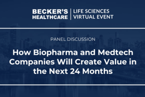 Dr. Seth Lederman joins the Becker's Panel to discuss the future of value in biopharma - The Becker's Panel - June 10, 2021
