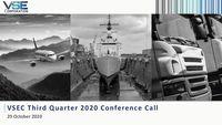 VSE Corporation Earnings Presentation for the Third Quarter 2020