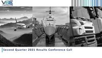 VSE Corporation Earnings Presentation for the Second Quarter 2021