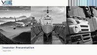 VSEC Overview - Current Investor Presentation [Aug 2021]