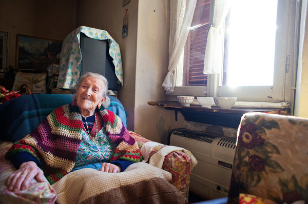 Raw Eggs and No Husband Since '38 Keep Her Young at 115