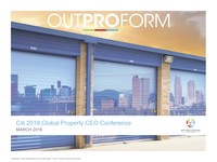 Citi 2018 Global Property CEO Conference