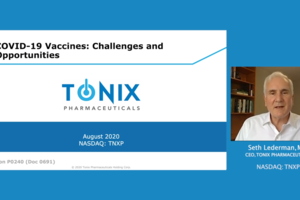 Dr. Seth Lederman presents a vaccine tutorial covering the challenges and opportunities of developing a vaccine for COVID-19