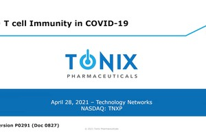Dr. Seth Lederman discusses T Cell Immunity and COVID-19 on Technology Networks