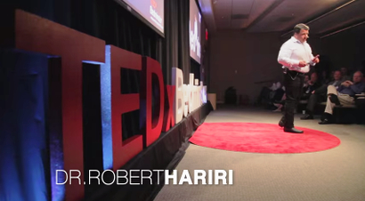 Founder and Chairman of MYOS Corporation | Dr. Robert Hariri | TEDxBedminster