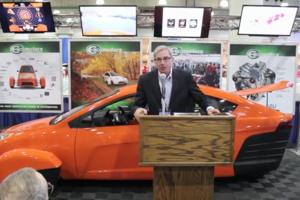 NY Auto Show press conference
