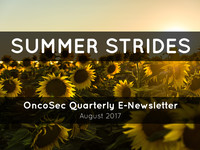 OncoSec Quarterly Update: August 2017