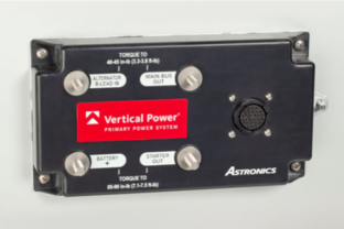 Astronics Introduces the Vertical Power Primary Power System for Solid-State Aircraft Power Handling