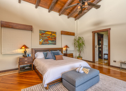 Master Bedroom, Left Wing of the House - Casa Big Sur (10/50)