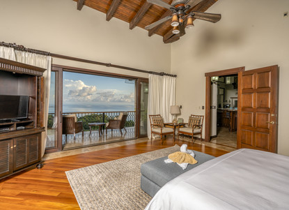 Master Bedroom, Left Wing of the House - Casa Big Sur (11/50)
