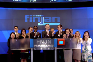 Finjan is proud to be listed on NASDAQ. May, 2014