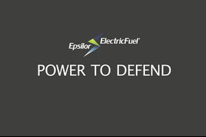 Welcome to Epsilor Electric Fuel